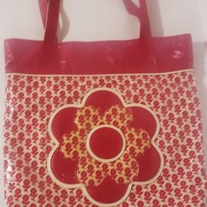 Vera Bradley patent Leather tote bag